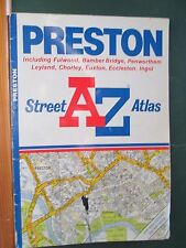 AZ Street Atlas Preston Fulwood Bamber Bridge Penwortham and area