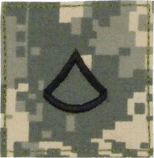 PFC Rank E-3 ACU Insignia Patch Hook & Loop Official U.S. Made 1761 Rothco