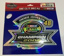 New listing Jimmie Johnson Foil 2006 Champion Nascar Racing Foil Decal