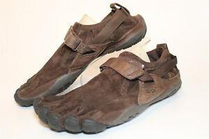 Vibram Mens 9 42 KSO Trek Kangaroo Leather Barefoot Minimalist Hiking Shoes 241