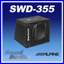 "Alpine SWD-355 - 12"" Active Amplified Subwoofer Box 650W"