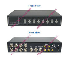 NEW 8 Channel HighSpeed +4Ch Audio Color Quad Processor for CCTV Security Camera