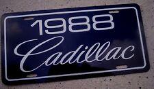 1988 Cadillac license plate car tag 88 Eldorado Fleetwood Allante Seville Caddy