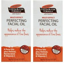 2 x Palmers Cocoa Butter Multi-Effect Perfecting Facial Oil 30ml Brand  New