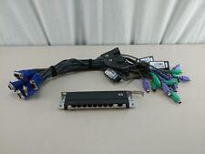 HP 262589-B21 Cat5 8-Port Expansion Module w/ 8 HP 520