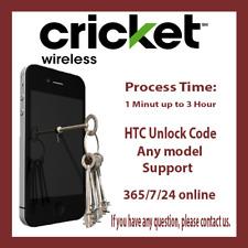 HTC Cricket Unlock Code DESIRE 550 520 555 510 512 625 626