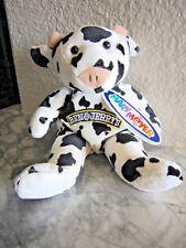 NEW Ben & Jerry's Ice Cream Cow Beanie Plush Mary Meyer Advertising