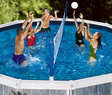 Swimline 9187 Above-Ground Cross Volleyball Game Up to 30' Round Swimming Pools