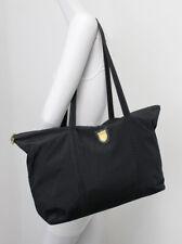 Mark Cross Black Nylon Shoulder Bag Tote