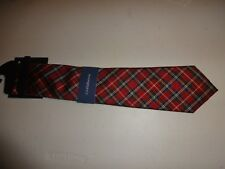 CROFT AND BARROW NECK TIE MULTICOLOR red REGULAR NWT