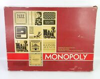 Parker Brothers Red Box MONOPOLY Board Game 1964 Vintage Complete