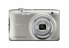Nikon Digital Camera COOLPIX A100 Silver 20.05MP New