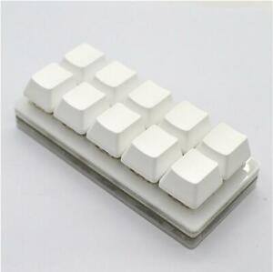 Programmable Mechanical Keyboard 10 keys Macro keypad Blue / Red Switch DIY USB