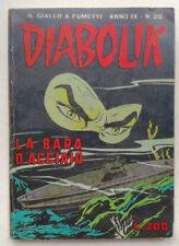 DIABOLIK N° 20 anno IX (nono) Astorina 1970