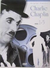 CHARLIE CHAPLIN - DEEL 1-5 -  BOXSET 5 DVD - BLACK & WHITE