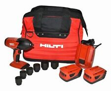 "HILTI SIW 18T-A  18V 1/2"" IMPACT WRENCH CORDLESS Kit BRAND NEW"