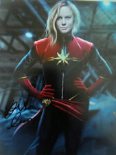 Brie Larson 8x10 Signed Photo Auto