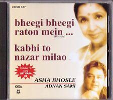 ASHA BHOSLE / ADNAN SAMI - KABHI TO NAZAR MILAO/BHEEGI BHEEGI RATON MEIN-NEW CD