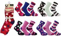 New Ladies Luxuriously Soft & Cosy Warm Bed Sleep Socks Co-Zees Christmas Gift