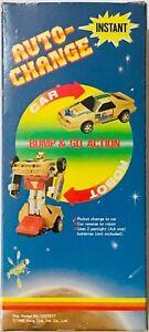 VINTAGE 1985 HANG TJUK AUTO-CHANGE CAR ROBOT TRANSFORMERS KO NEW IN BOX RARE