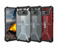 Urban Armor Gear (UAG) Samsung Galaxy S10 Plasma Clear Case Black Clear Red