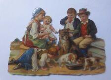 niños, moda, niños, jugar, perro 11,5 cm x 8cm 1877 (61224)