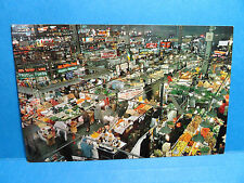 Vintage Lexington Market Baltimore City MD. Postcard