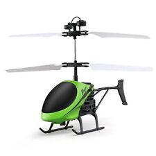 Flying Mini RC Infraed Induction Helicopter Aircraft LED Flashing Light Toys UK