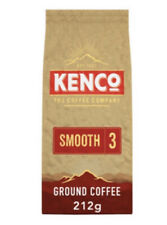 Kenco Smooth Ground Coffee Barista Edition Cafetiere & Filter 212g FREE SHIPPING