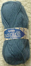 Wendy Aspire Bulky Natural Pure Wool and Alpaca 5 Colours 100 G 3248 Mallard Teal