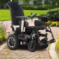 Elektrorollstuhl Q400 R Sopur elektrischer Rollstuhl Heckantrieb