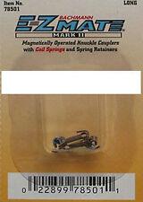 Bachmann 78501 'N' E-Z Mate MK2 Magnetic Knuckle Couplings Long Shaft x2 1stPost