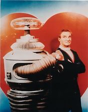 LOST IN SPACE JONATHAN HARRIS & THE ROBOT