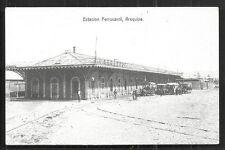 Arequipa Estacion Railway Station People Vargas Peru 1899