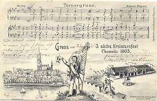 Chemnitz, 3. sächs. Kreisturnfest, 1905