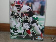 Thurman Thomas signed in person 8x10 photo