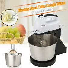 220V 7 Speed Electric Stand Mixer Hand Countertop Kitchen Homemade Cakes Muffins