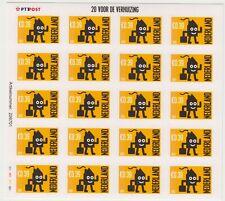 Nederland V2050 vel verhuiszegels postfris 2002