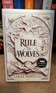 NEW INDIGO EXCLUSIVE Rule of Wolves (King of Scars Duology)by Leigh Bardugo