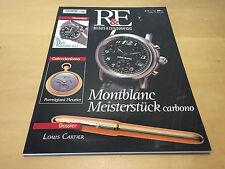 Magazine Rivista OROLOGI & PENNE STILOGRAFICHE - Nº 12 Abril 2001 - Montblanc