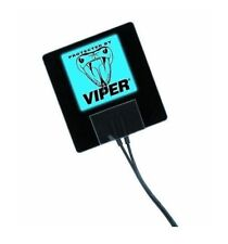 Viper 620V Blue Flashing Alarm Sticker Viper alarms or universal fitment