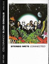 Stereo MC's Connected CASSETTE ALBUM Electronic Acid Jazz Trip Hop Funk