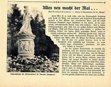 Alles neu macht der Mai Frühjahrsputz in Berlin Denkmäler Tiergarten Dampfer1908