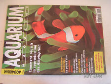 **a1 Aquarium magazine n°156 Amphiprion / Siganus vulpinus / Otocinclus affinis