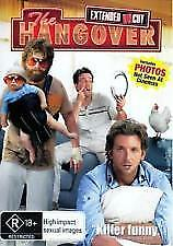 THE HANGOVER - NEW & SEALED DVD (ZACH GALIFIANAKIS) EXTENDED UNCUT EDITION