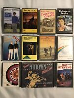 Vintage Music Cassette Tape Bundle Joblot The Seahorses Kool & And The Gang