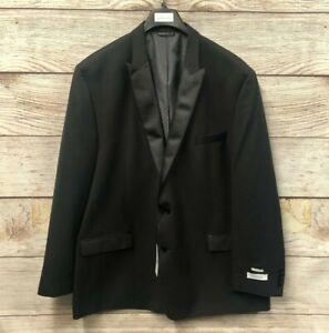 Collection Michael Strahan Jacket Men's 54L Classic Suit Jacket Peak Lapel New