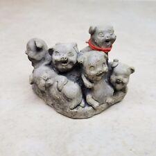 Mount St Helens Volcanic Ash Pig Piglet Sculpture Figurine J-T-P