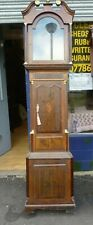 More details for good antique longcase clock case for 13ins by 18.5ins dial