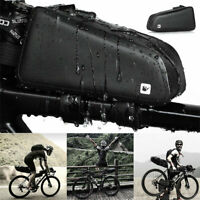Waterproof Bicycle Front Tube Bag Cycling Top Frame Pouch MTB Road Bike Pannier